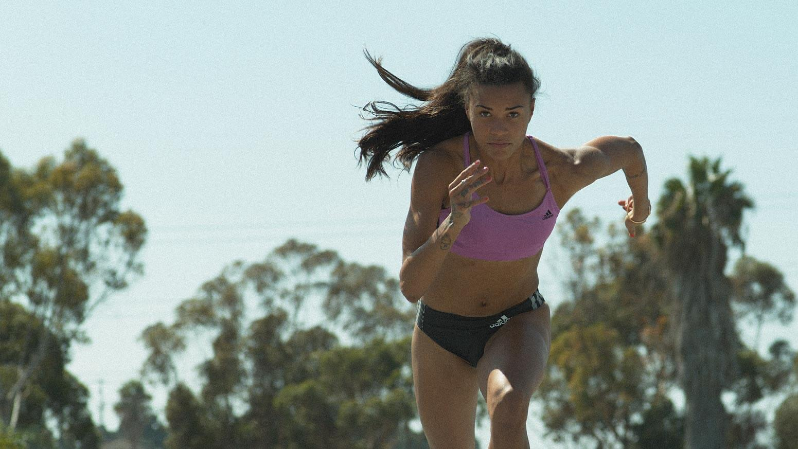 Morgan Mitchell Running 400m