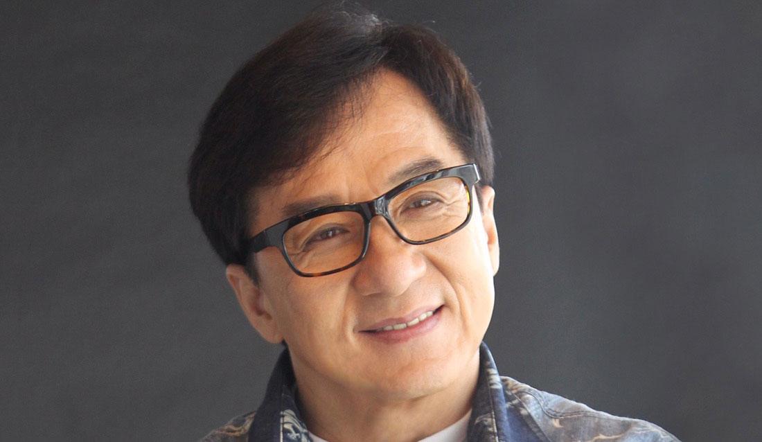 Jackie Chan Headshot