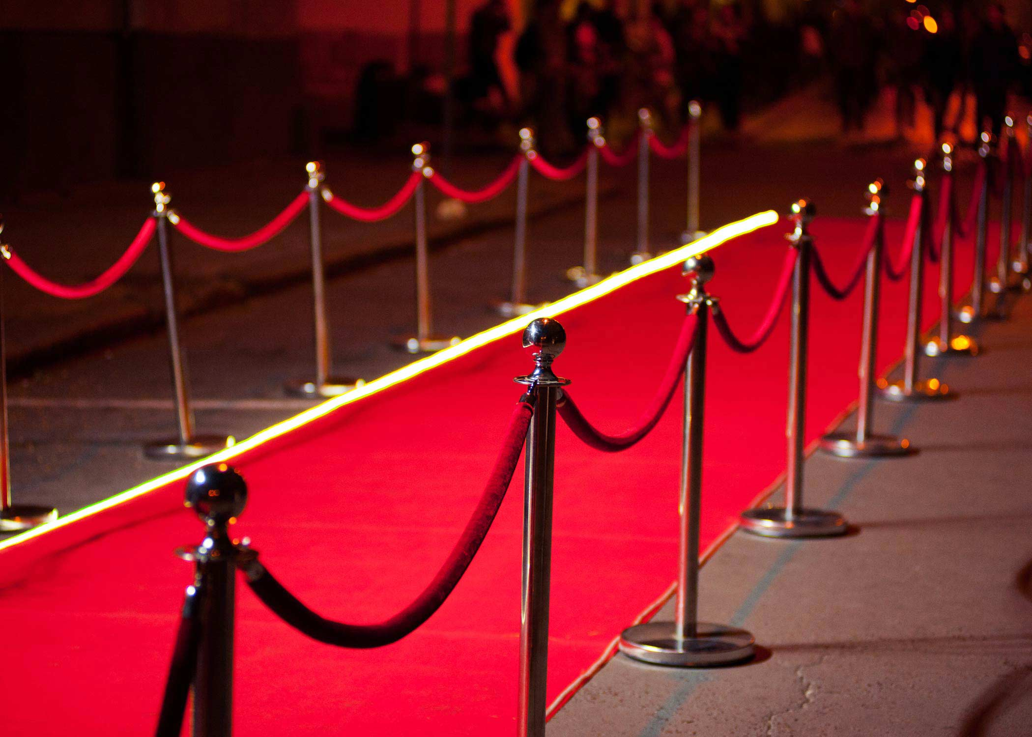 Image of a red carpet premiere